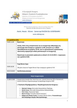 program - Portal Firm Rodzinnych