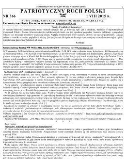 patriotyczny ruch polski nr 366 1 viii 2015 r.