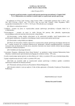 wypożyczalnia nart i rowerów zs6 - Zespół Szkół nr 6 w Białymstoku