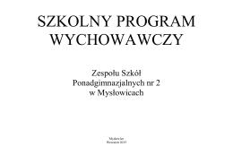 Program Wychowawczy ZSP nr 2