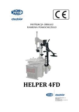 instrukcja obsługi ramienia pomocniczego magneti marelli helper 4fd