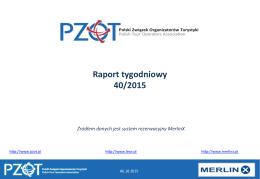 Raport tygodniowy 40/2015 w PDF