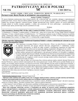 patriotyczny ruch polski nr 356 1 iii 2015 r.
