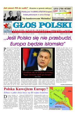 Głos Polski nr. 44 (2015)