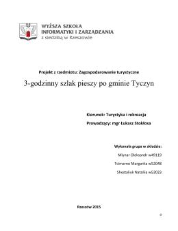 pobierz pdf - Centrum Turystyki i Rekreacji WSIiZ