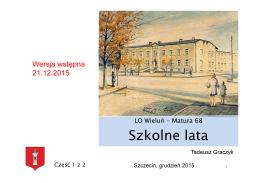 LO68-Szkolne lata-2015-12-21 częsc 1 z 2