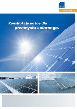 PL. Ulotka Produkty dla branży solarnej