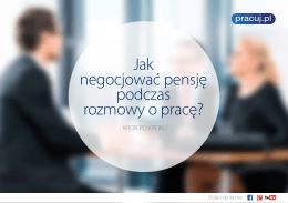 Jak negocjować pensję podczas rozmowy o pracę?