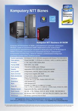 Komputery NTT Biznes