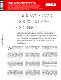 Budownictwo podłączone do sieci - V-Bud Walkiewicz - v
