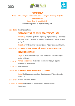 Agenda_Konferencja Model LBG_Zielona Gora