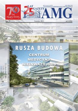 Gazeta AMG czerwiec 2015 - Gdański Uniwersytet Medyczny