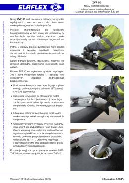 ELAFLEX Information 5.13 PL.