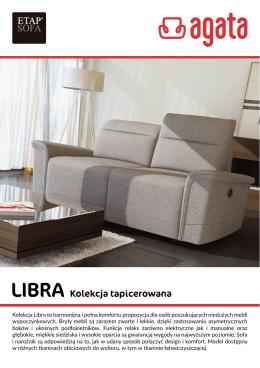 Kolekcja Libra to harmonijna i pełna komfortu
