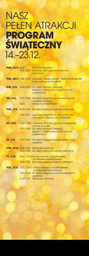 Weihnachtsprogramm PDF