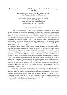 Udział Polski w emisji oraz alokacji redukcji odpływu rzecznego