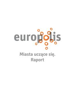 Miasta uczące się. Raport - Polska Fundacja im. Roberta Schumana