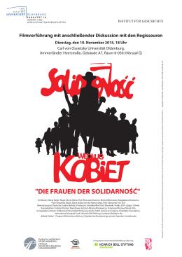 Plakat_Frauen_Solida.. - Carl von Ossietzky Universität Oldenburg