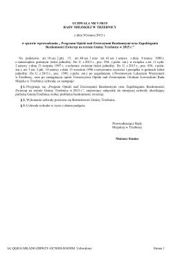 Uchwala Nr V/50/15 z dnia 30 marca 2015 r.