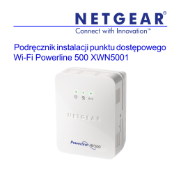 Powerline 500 WiFi Access Point (XWN5001) Installation