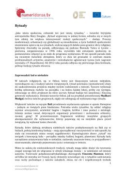 Rytuały - Numeridanse.tv