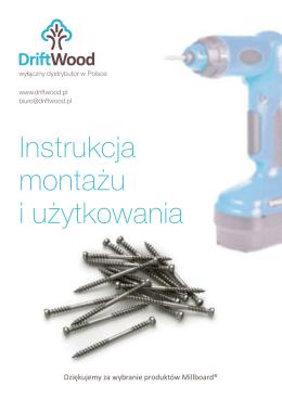Instrukcja montażu i użytkowania