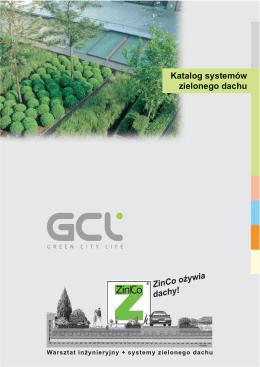 Katalog systemów zielonego dachu