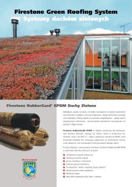 Firestone® RubberGard EPDM - systemy dachów zielonych