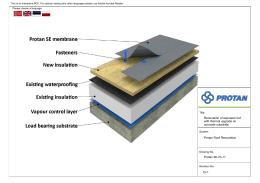 Protan 90-70-11 15-1 Renowacja dachu eksponowanego z