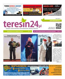 Gazeta internetowa mieszkańców Gminy Teresin