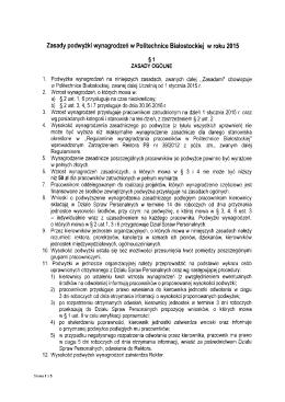 Zasady podwyżki wynagrodzeń w Politechnice Białostockiej w roku