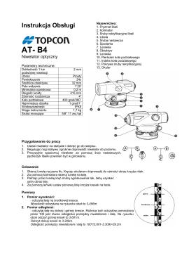 Instrukcja Obsługi AT- B4