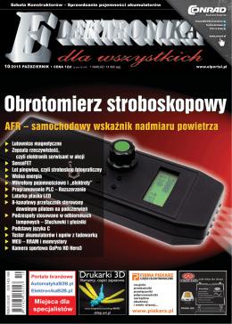 Elektronika dla Wszystkich, październik 2015