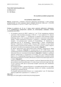 23UE.odpowiedzi - Wojewódzki Szpital Specjalistyczny w