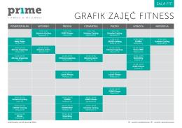 GRAFIK ZAJĘĆ FITNESS - Pr1me