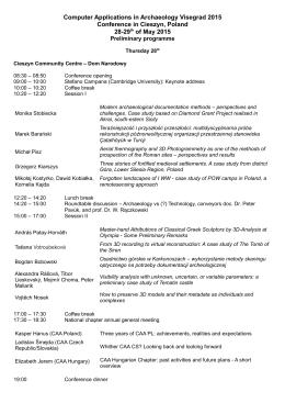 CAA_Visegrad2015_programme