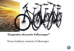 Oryginalne akcesoria Volkswagen® Nowa kolekcja rowerów