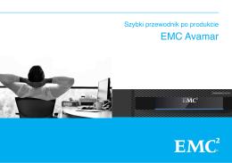 szybki przewodnik EMC Avamar