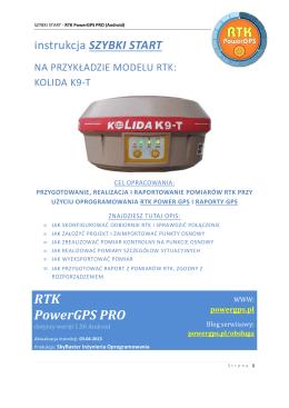 Szybki start - PDF