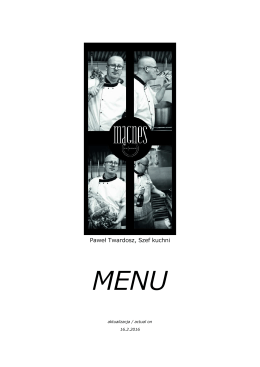 pełne menu Magnes 20160205