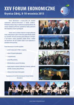 Praktyki Forum Ekonomicznego