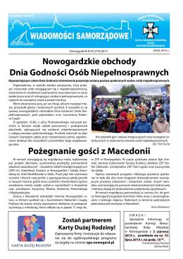 Pożegnanie gości z Macedonii