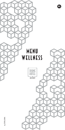 MENU WeLLNESS - Diune Hotel***** & Resort