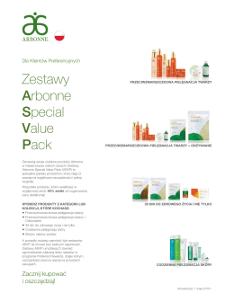 Zestawy Arbonne Special Value Pack