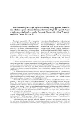 Polskie samobójstwo, czyli pięćdziesiąt cztery uwagi
