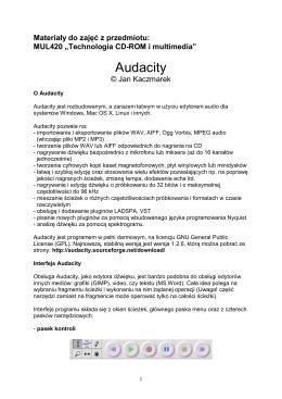 O Audacity