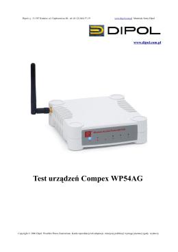 Test Urządzeń Compex