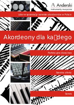 Katalog pozostałych akordeonów