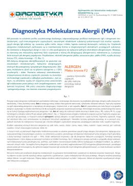 Diagnostyka Molekularna Alergii (MA) ver. 2.indd