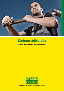 Zielono-żółta siła - Filtry Mann Filter